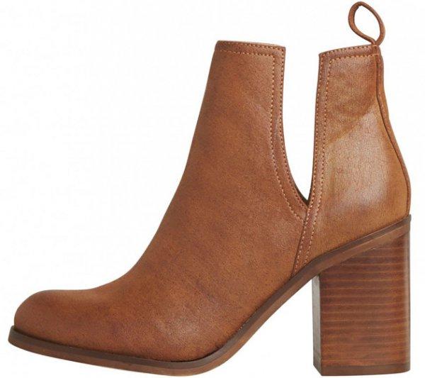 footwear, brown, leather, leg, boot,