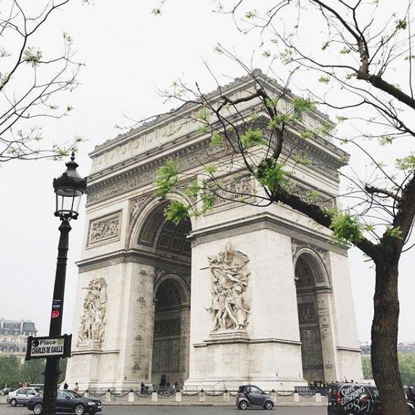 Arc de Triomphe, structure, building, arch, monument,