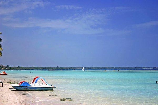Boca Chica in the Island of Hispaniola, Dominican Republic