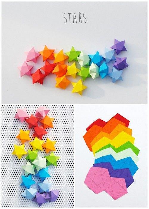 Wee Paper Stars
