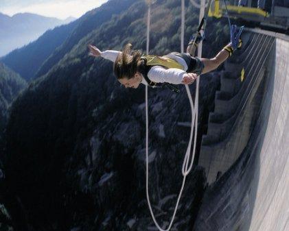 Bungee Jumping in Switzerland