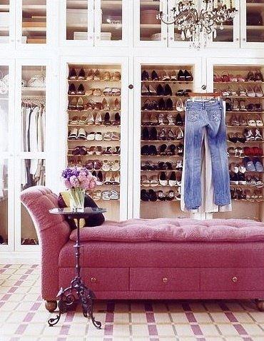 Luscious Walk in Wardrobe