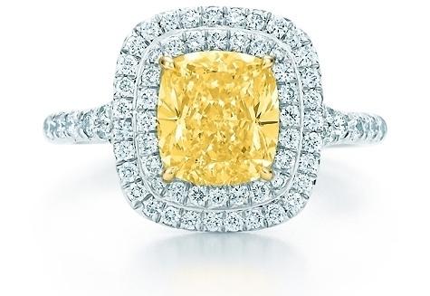 Tiffany Soleste Yellow Diamond Ring