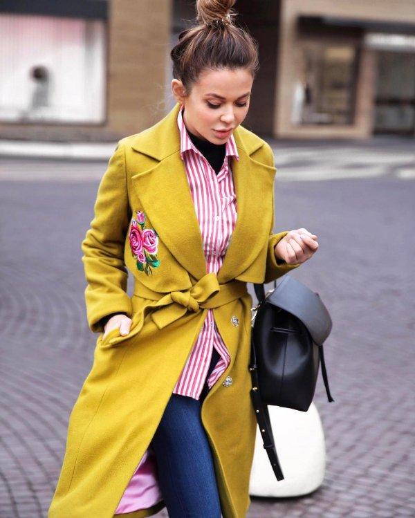 clothing, yellow, outerwear, fashion, spring,