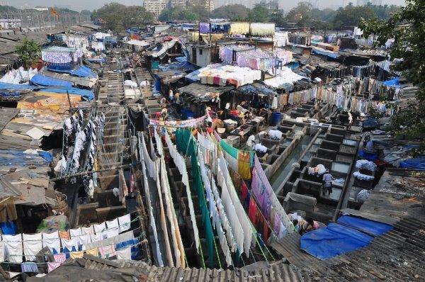 Wonder at Dhobhi Ghat, Mumbai