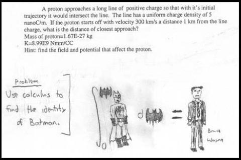 When Proton = Batman