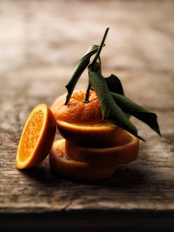 Eat a Medium Orange Instead of Drinking 12 Oz. of Fresh Orange Juice