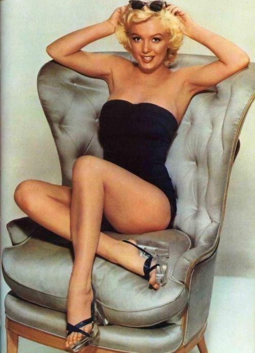 Rarely Seen Marilyn Monroe Playboy Photo