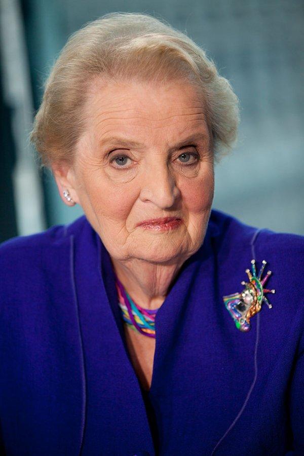 Madeleine Albright (1937 – P.)
