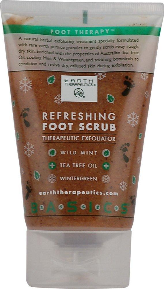 Earth Therapeutics Refreshing Foot Scrub