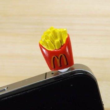 French Fries anti Dust Plug