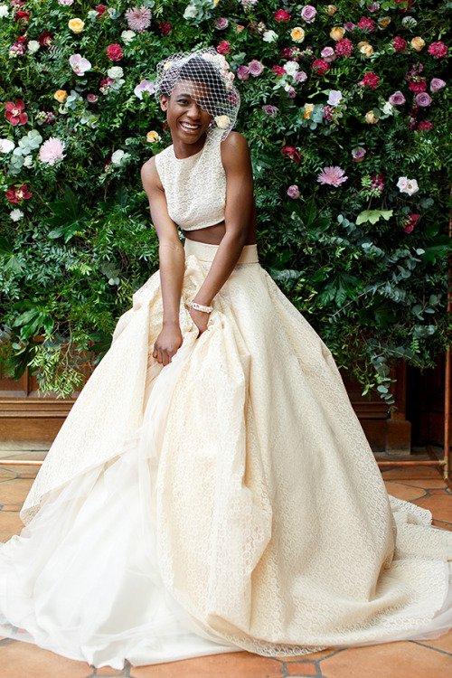 wedding dress, bride, dress, clothing, gown,