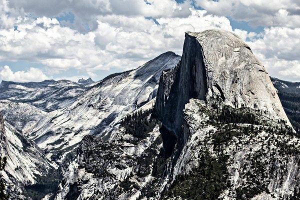Lightning May Strike Twice at Half Dome, Yosemite National Park, California