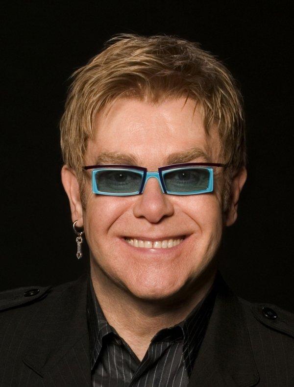 Sean Lennon and Elton John