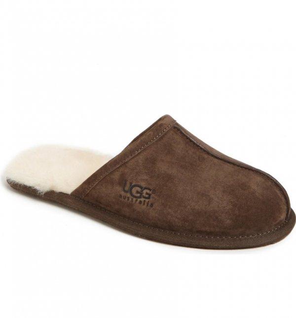 footwear, shoe, leather, brown, slipper,