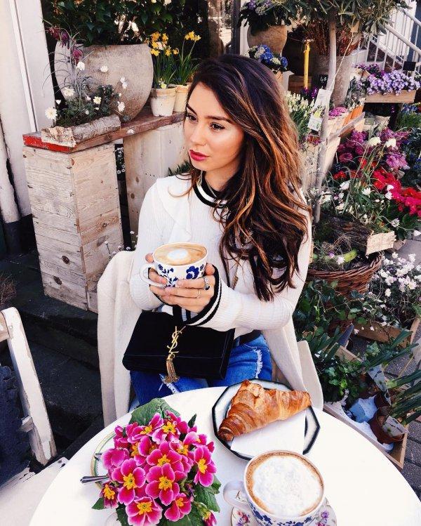 clothing, floristry, flower, eating,