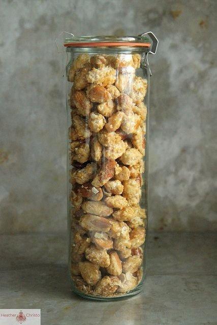 Candied Vanilla Almonds