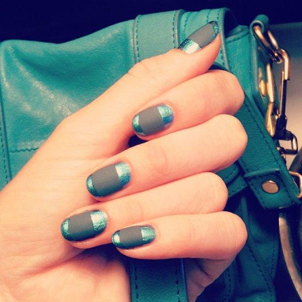color, nail, blue, manicure, electric blue,