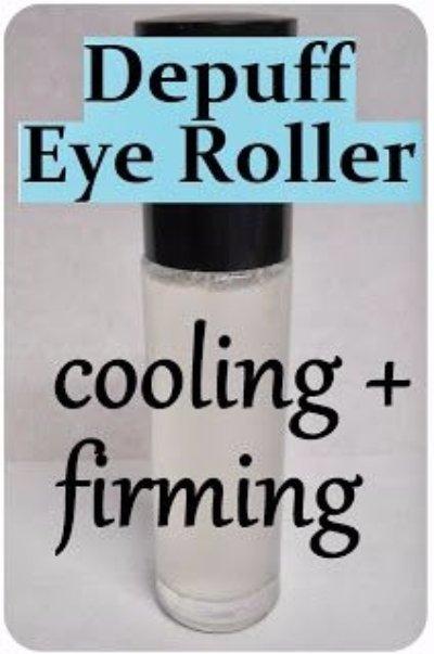 DIY anti-Puff Eye Roller