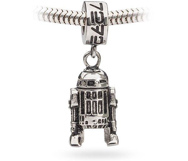 R2-D2 Dangle Charm Bead