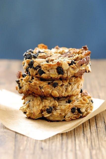 Blueberry Coconut Pecan Breakfast Cookie