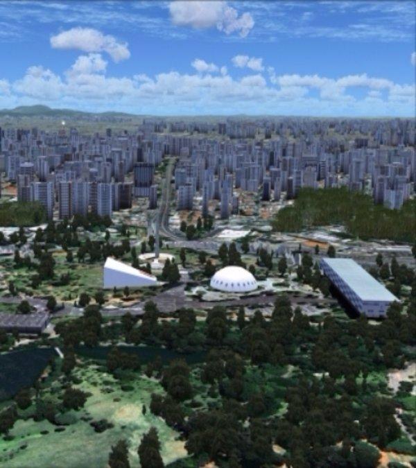 Ibirapuera Park: São Paulo, Brazil
