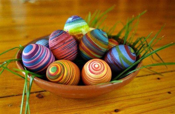 color, food, easter egg, thread, art,