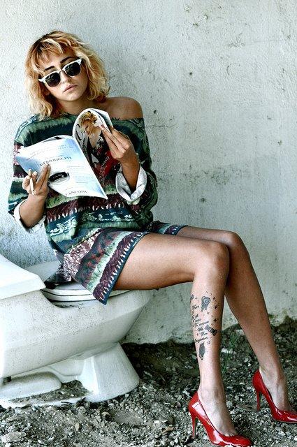 Scour Fashion Magazines