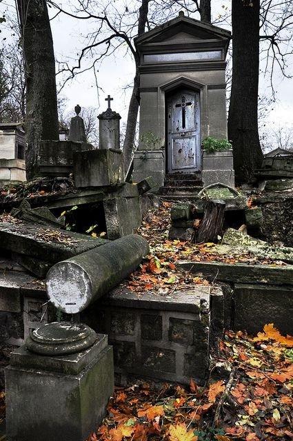 grave,cemetery,ruins,shrine,autumn,
