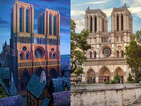 Notre Dame de Paris, Paris, landmark, building, town,