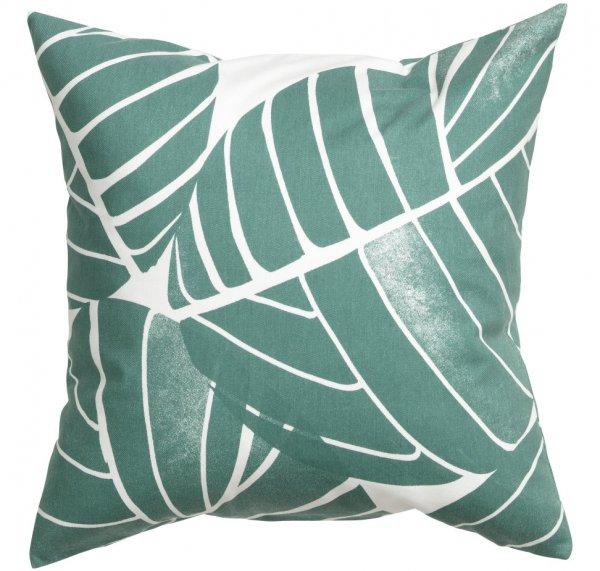 Green Cotton Cushion Cover