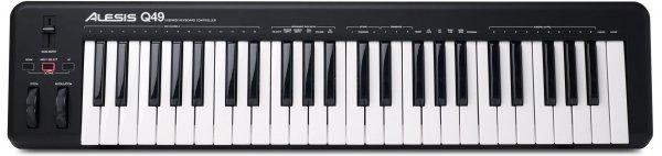 Q49 49-Key USB MIDI Keyboard Controller