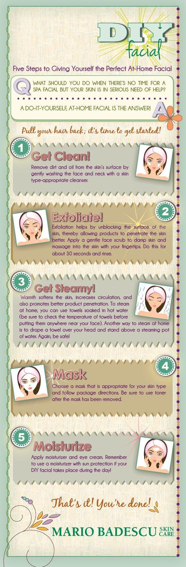 The DIY Facial Process