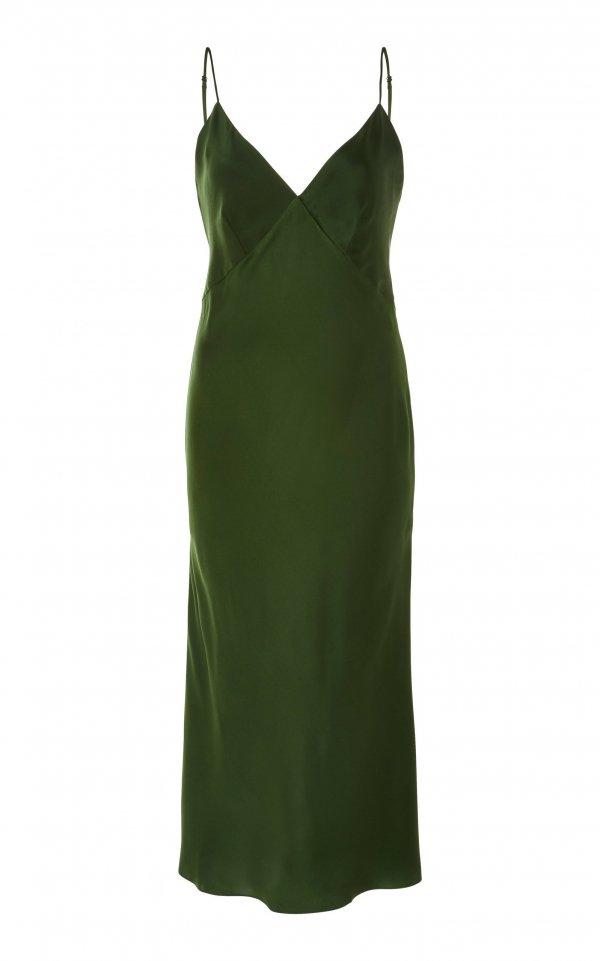 Clothing, Green, Dress, Day dress, Cocktail dress,