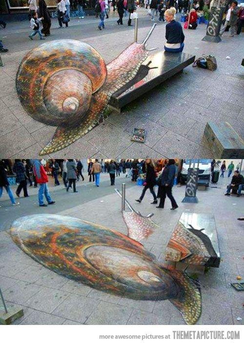 Optical Snail