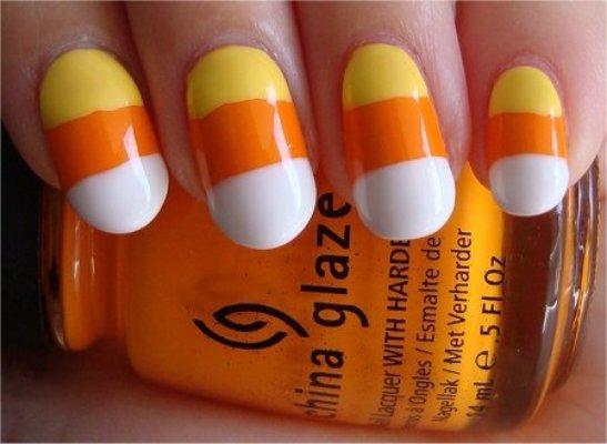 China Glaze,color,yellow,orange,nail,