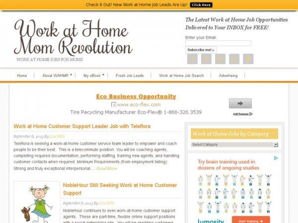 Workathomemomrevolution.com