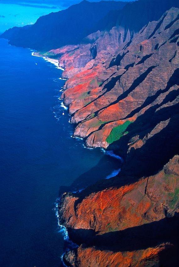 Na Pali Coast, Hawaii, USA