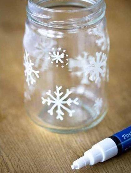 Snowflake Jars