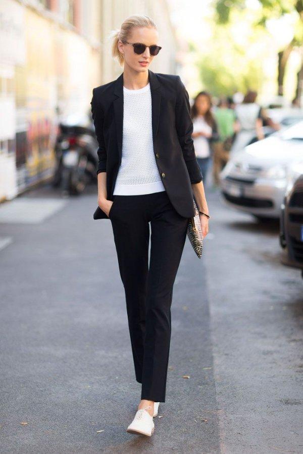 Black & White Suits