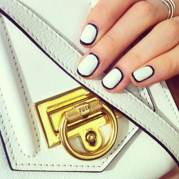 bag, manicure, label, wallet, cash,