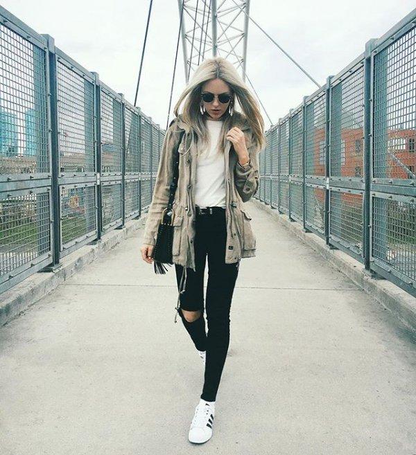 white, clothing, road, footwear, snapshot,
