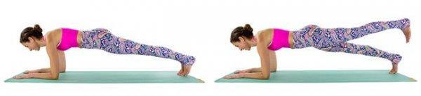 Plank Heel Lifts