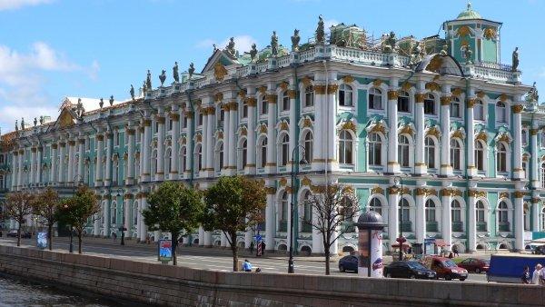 Hermitage Museum,plaza,landmark,palace,town square,