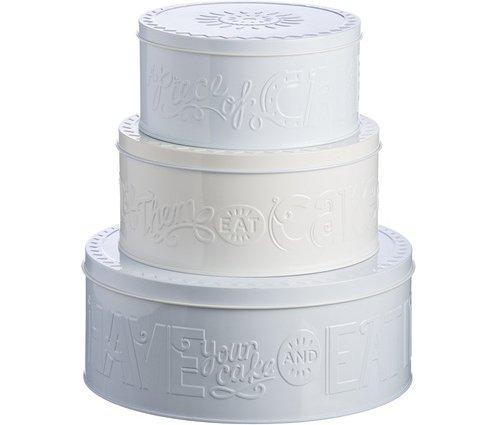 Cake Storage Tins