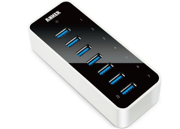 AH221 USB 3.0 7-Port Hub