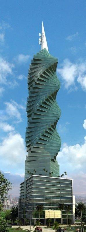 The F&F Tower, Panama City, Panama