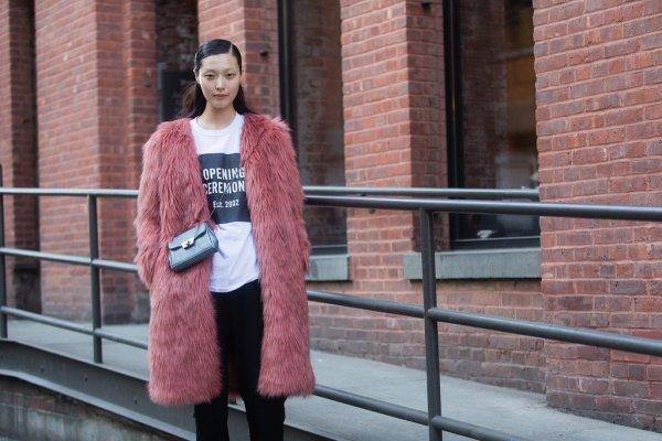 Colored Faux Fur