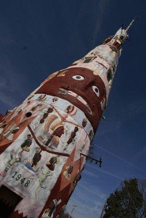 Totem Pole, Foyil, Oklahoma