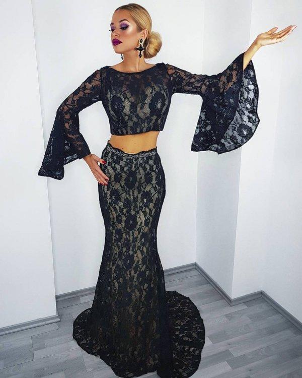 dress, fashion model, day dress, shoulder, gown,